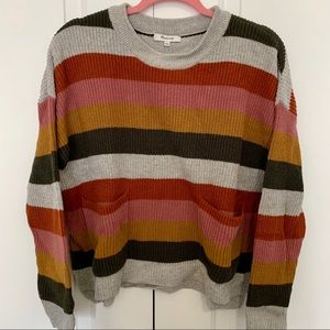 Madewell patch pocket sweater